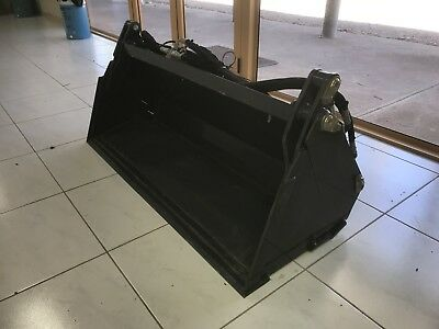 4 in 1 Bucket 4' Wide With Third Service Kit Kioti Kubota Iseki Yanmar