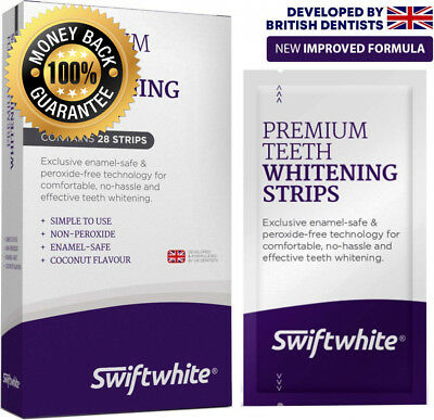 Teeth Whitening Strips, Peroxide-Free Luxe 3D Tooth Whitener Kit, Kit No...