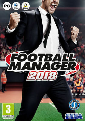 FOOTBALL MANAGER 2018 per PC/MAC/LINUX - ITALIANO Originale STEAM