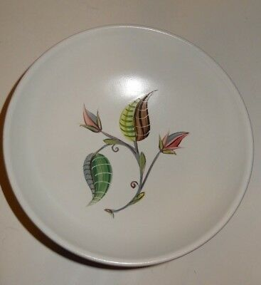 Vintage Denby Stoneware A College Coupe Cereal Bowl England