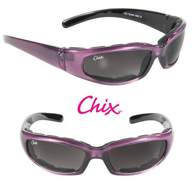 Chix® Women's Eyewear, Rally Sunglasses Grey Gradient Lens/Padded Frame 43023