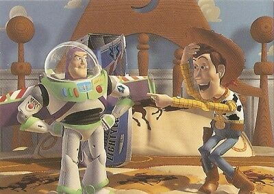 Skybox 1995 Toy Story Promo Card S1