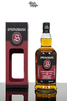 Springbank 12 Years Old Cask Strength Batch 16 Single Malt Scotch Whisky (700ml)