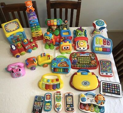 Various Mixed Baby Toys Fisher Price/vtech -& Musical All Sold Separately