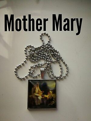 Code 425 Mother Mary Nativity scene Charged n Infused Necklace Confirmation Gift