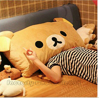 Rilakkuma Relax Bear San-X Plush Brown Pillow Case 95*38cm plush soft toys gifts