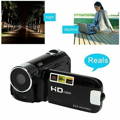 Full HD 1080P Digital Camera Home Travel Video Camcorder DV 2.7'' TFT LCD DVR