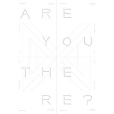 Monsta X-[Take.1 Are You There?]2nd Album 4 Ver SET CD+148p Booklet+2p Card+Gift
