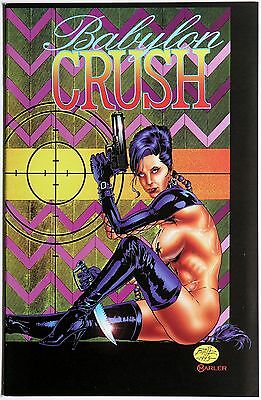 Babylon Crush 3 Boneyard Press Hart D. Fisher Thomas Derenick #RARE#