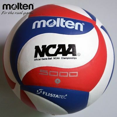 Volleyball Ball Molten 5v5m5000 Official Indoor Outdoor Game Leather Soft Touch