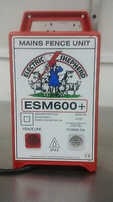 Electric Shepherd (Rutland) ESM 600+ Mains Electric Fencing Energiser 2.28 Joule
