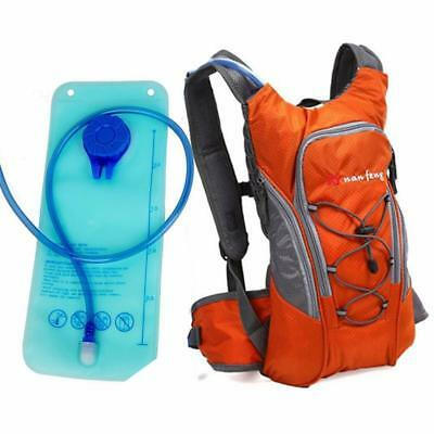 Cycling MTB Road Mountain Bike Bicycle Hydration Pack Backpack Bag Water Bladder