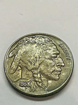 1938-D Buffalo Nickel Gem BU #3289