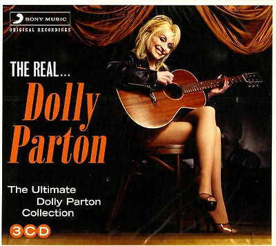 3 cd DOLLY PARTON THE REAL Dolly parton THE ULTIMATE COLLECTION