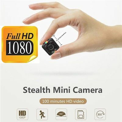 Mini SQ11 Full HD 1080P Hidden Camera with IR Night Vision & Motion Detection