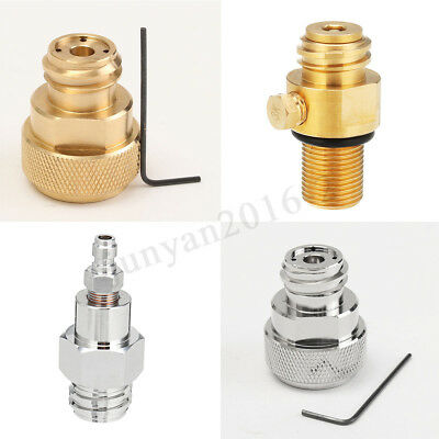 M18*1.5/tr21-4/Standard Paintball Brass Replace Adapter For Sodastream CO2 Tank