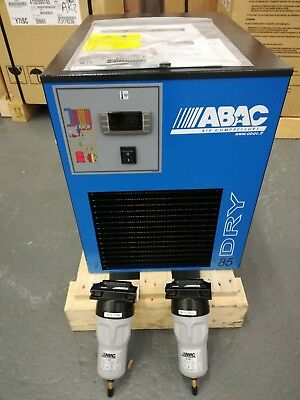 ABAC DRY 85 Refrigerant Compressed Air Dryer complete with filters.