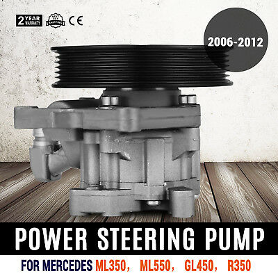 0054662201 Power Steering Pump For Mercedes-Benz GL450 ML350 ML550 R350 New
