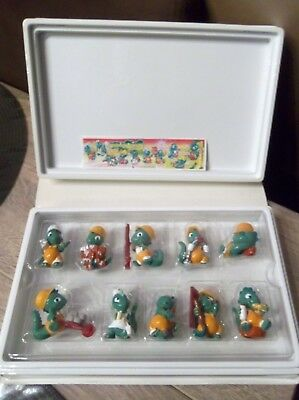 Vintage Coffret Diorama Kinder Surprise Drolly Dinos