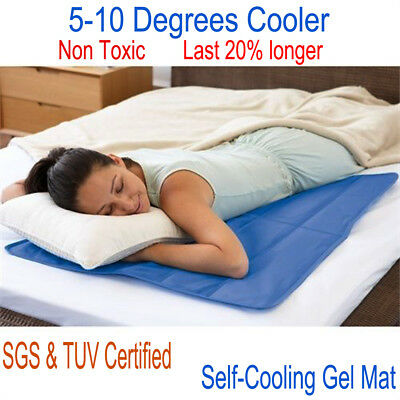 For A Good Sleep Summer Cool Mat Bed Mattresses Non Toxic Cooling Pad Cushion