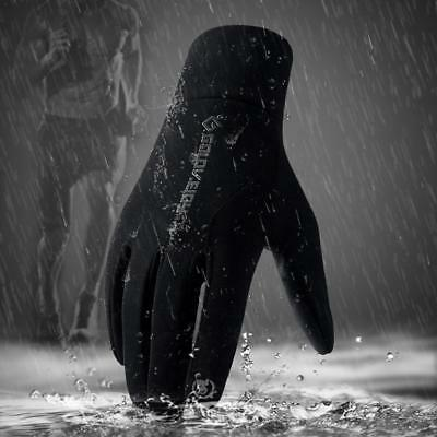 Unisex  Bike Gloves Winter Thermal Warm Full Finger Cycling Glove Touch screen