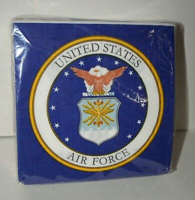50 US Air Force Academy ? Football Helmet Team Party Napkins New Tailgate