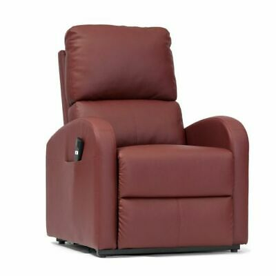 Livewell Fairfield Single Motor Faux Leather Riser Lift Recliner Chair Armchair