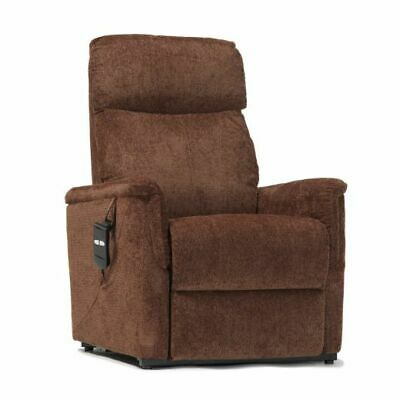 Moreland Single Motor Fabric Riser Recliner Chair Armchair Lift Mobility Aid