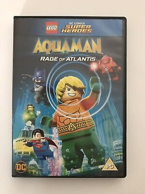 Lego DC Aquaman Rage Of Atlantis DVD new But Unsealed. Free Postage