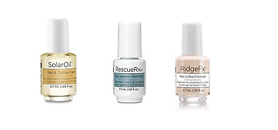 CND Mini Nail Treatments 3.7ml Bottles  CND SOLAR OIL- RESCUE RXX - RIDGE FX