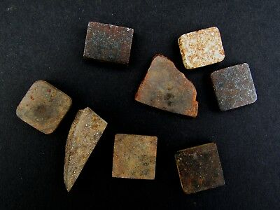 Stone meteorite ordinary chondrite NWA unclassified small slices