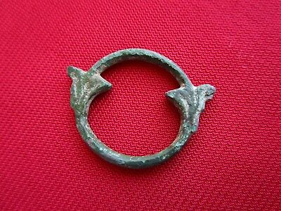 Ancient CELTIC BRONZE PROTO MONEY / COIN - rare shape