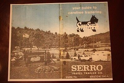 Serro Scotty Vintage Travel Trailer Owners Manual Copy