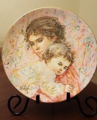 Marilyn and Child Collectible Plate