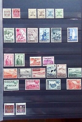 ICELAND -  Small Collection - From 1902 to 1980s - 28v