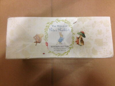 The World of Peter Rabbit Complete Box Set Book - 23 Books. New damaged box