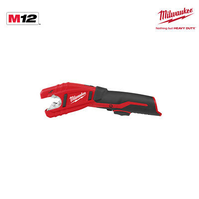 Coupe tube MILWAUKEE C12PC-0 - sans batterie ni chargeur 4933411920