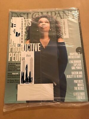 Fast Company Magazine Oprah Winfrey Most Productive People November 2015 (NEW)