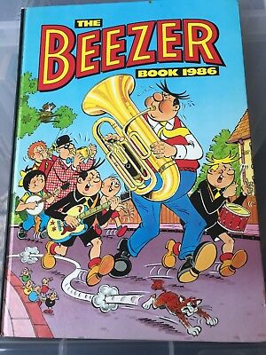The Beezer  Book Annual 1986.