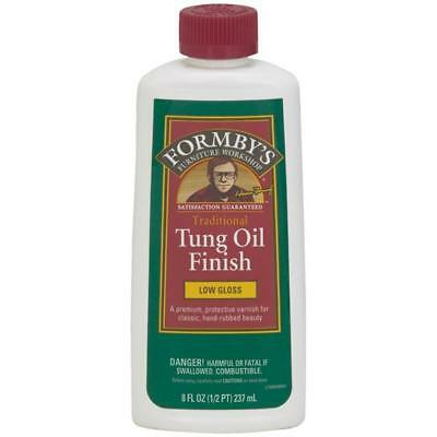 Formby's Low Gloss Water Resistant Tung Oil Multi Surface Finish 8 Oz 30069
