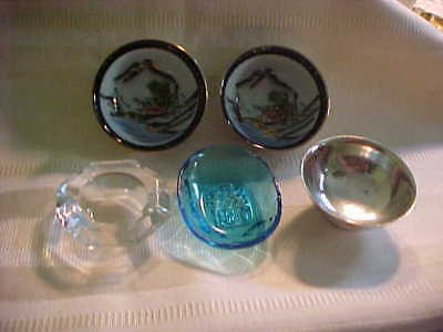 Group Of Five Vintage Open Salts