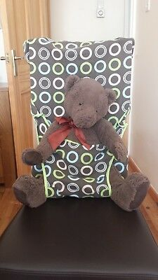 Totseat, washable squashable highchair, great when out & about, VGC