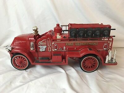 Jim Beam Kentucky Straight Bourbon Whiskey Fire Department No.2 Empty Decanter