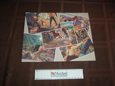 1940 R83 Lone Ranger Advertising Sheet for the Large Premiums RARE!