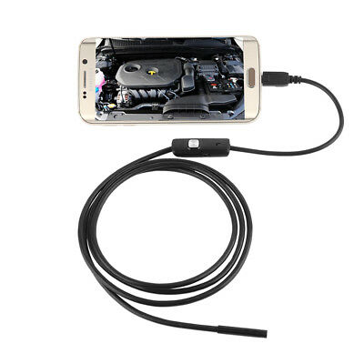 7MM Android PC HD Endoscope Snake Borescope USB Inspection Camera TOP Quality UK