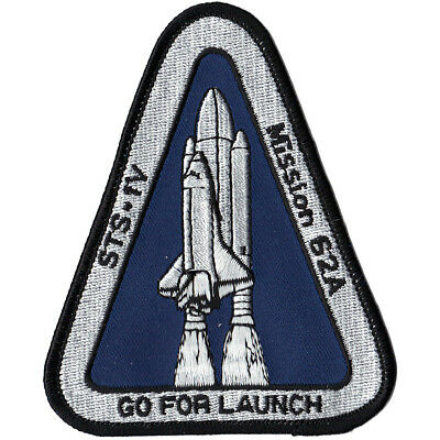 SP-396J NASA Go For Launch STS-1V Patch