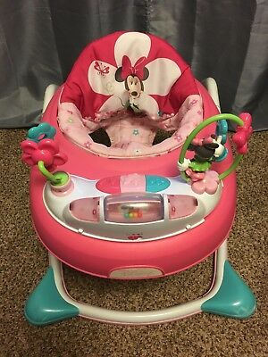 Minnie Mouse Baby Walker Lights Up, Music Activity