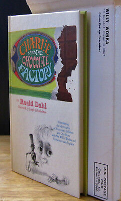 CHARLIE &THE CHOCOLATE FACTORY (1973) ROALD DAHL Concorde Confections Special Ed