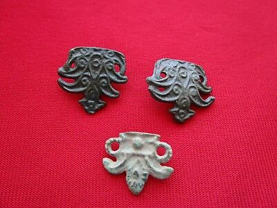 CELTIC AMULET PENDANT / DECORATIONS . Lot of 3 pieces  .