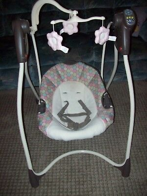Greco Infant/baby Swing W/music And Multi Swing Speed & Multi Position Seat